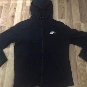 Kids Black Nike sweater